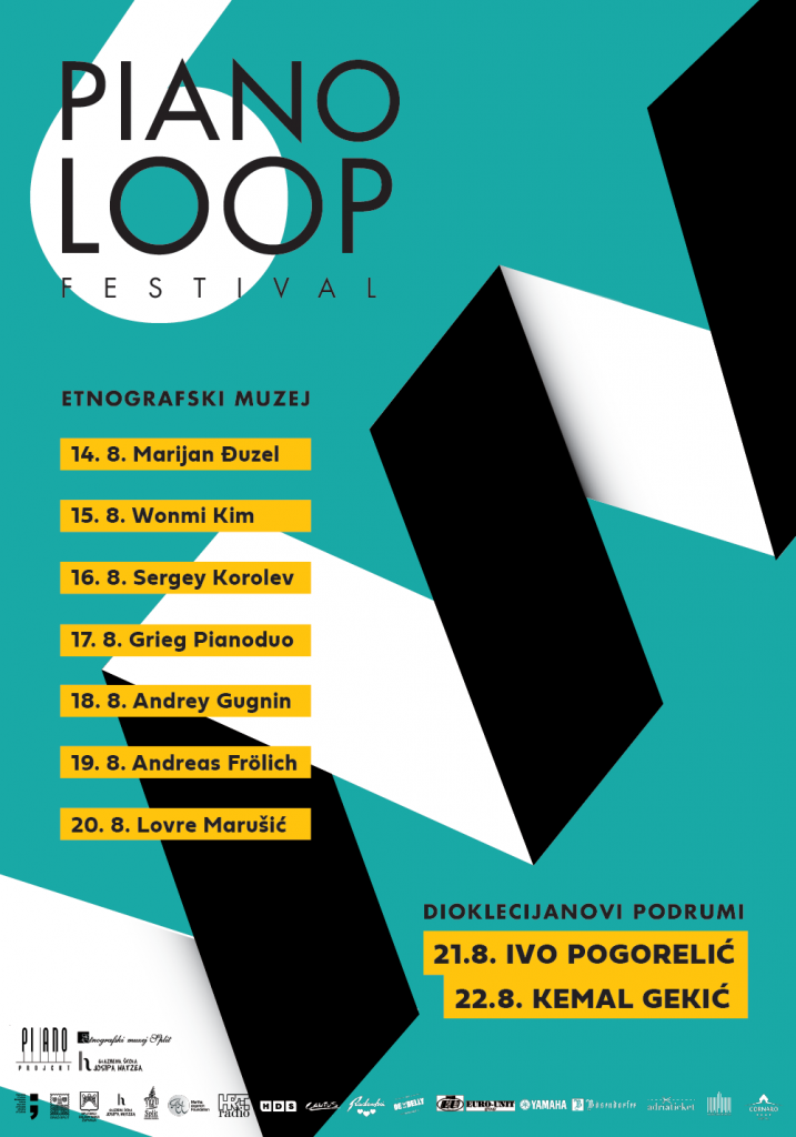 piano loop 2019 plakat